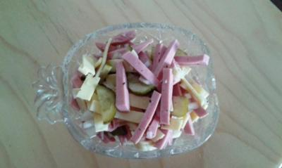Rezept: Schweizer Wurstsalat