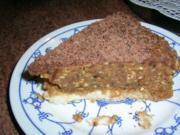Buttercrememokka_Torte - glutenfrei + eifrei + ohne Backen - Rezept
