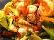 Salat  Surf and Turf - Rezept