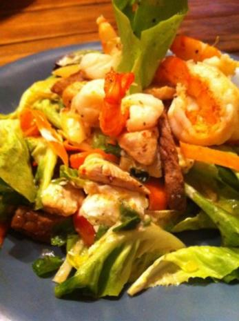 Salat  Surf and Turf - Rezept