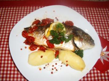 Dorade -Tomaten-Päckchen - Rezept