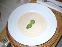 Sellerieschaumsüppchen - Rezept
