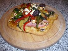 Hefefreie Pizza für Histaminallergiker geeignet - Rezept
