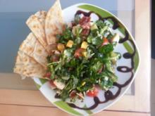frühlingssalat mit balsamico crema - Rezept