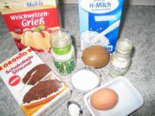 Süßspeisen + Desserts: Grießflamerie auf die gute altdeutsche Art - Rezept