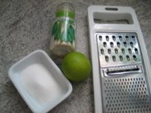 Gewürze: Kochmaids Limetten-/Zitronenschalenabrieb - Rezept
