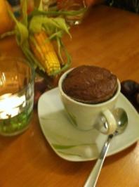 Schokoladenkuchen mit flüssigem Kern - Rezept