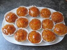 Aprikosen-Rosinen-Muffins - Rezept