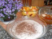 dessert, quarkdessert mit obstsalat---wieder frühlingssuche... - Rezept