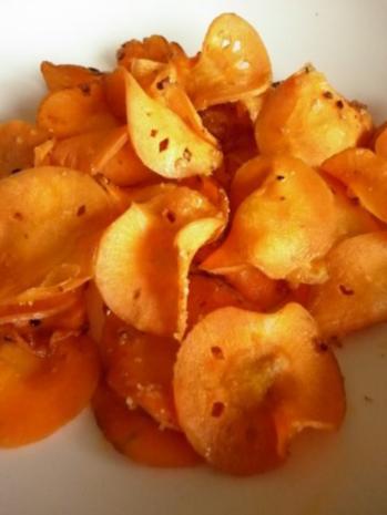Möhren-Chips - Rezept