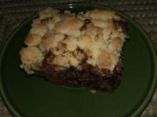 Schoko-Kirsch Streuselkuchen - Rezept
