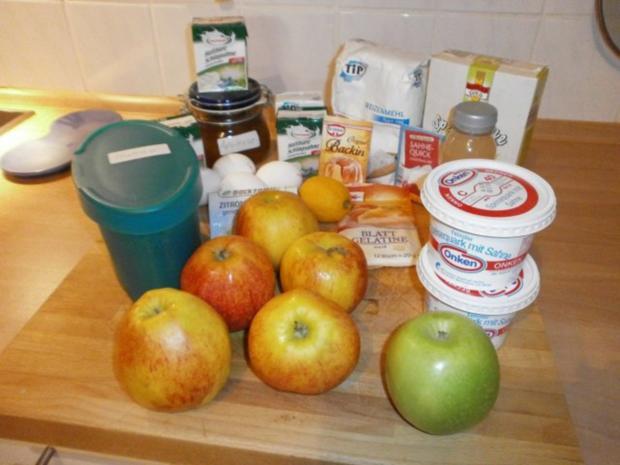 Apfel Quark Kuchen - Rezept - Bild Nr. 6