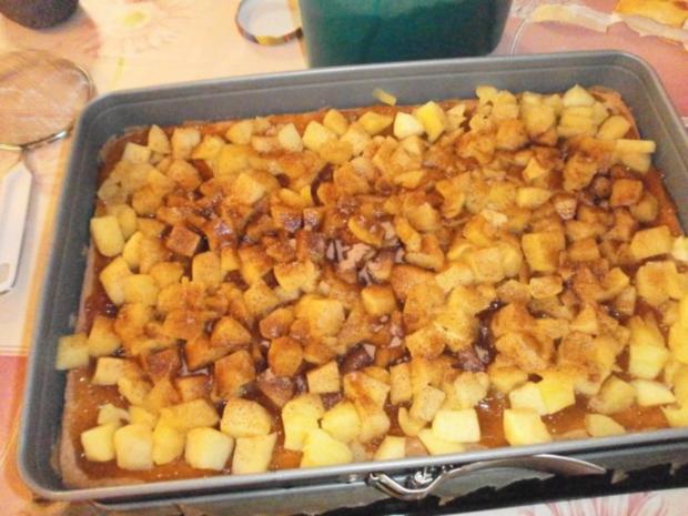 Apfel Quark Kuchen - Rezept - Bild Nr. 3
