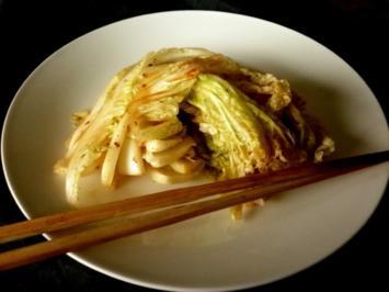 Kimchi - koreanischer Chinakohl - Rezept
