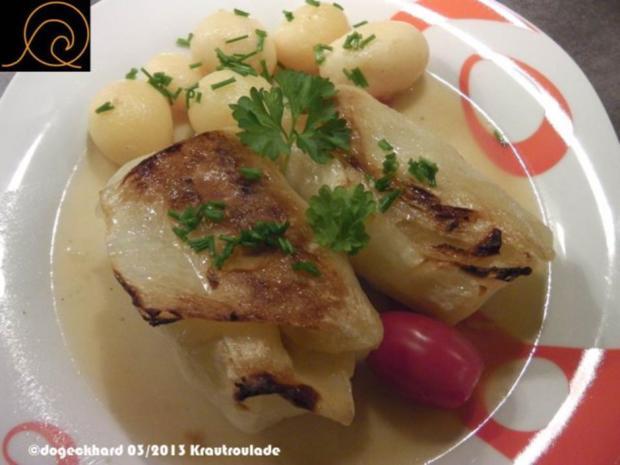 Traditionelle österreichische Krautrouladen / Kohlrouladen - Rezept