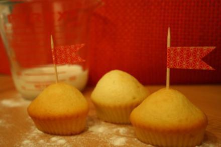 Buttermilch-Muffins - Rezept