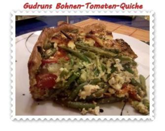 Rezept: Quiche: Bohnen-Tomaten-Quiche