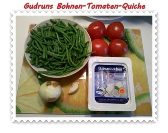 Quiche: Bohnen-Tomaten-Quiche - Rezept - Bild Nr. 2