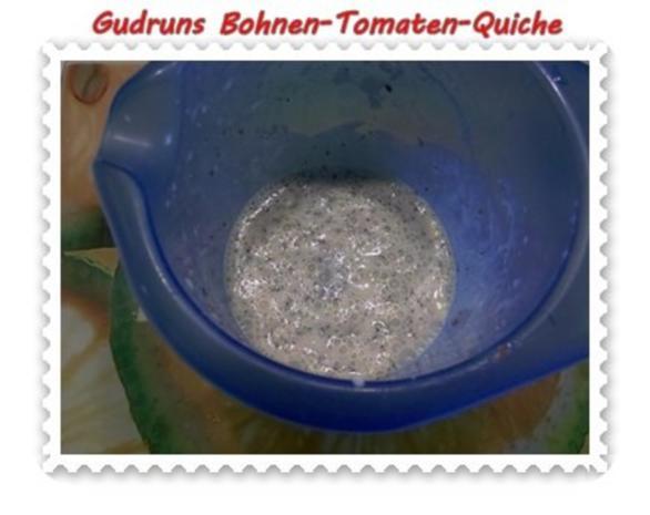 Quiche: Bohnen-Tomaten-Quiche - Rezept - Bild Nr. 4