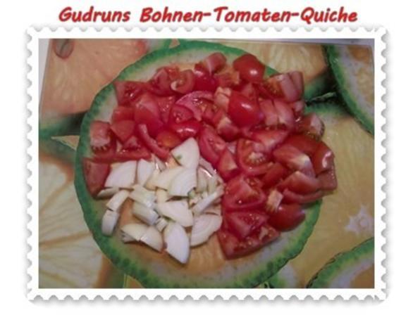 Quiche: Bohnen-Tomaten-Quiche - Rezept - Bild Nr. 5