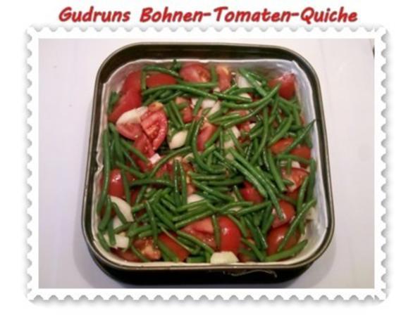 Quiche: Bohnen-Tomaten-Quiche - Rezept - Bild Nr. 6
