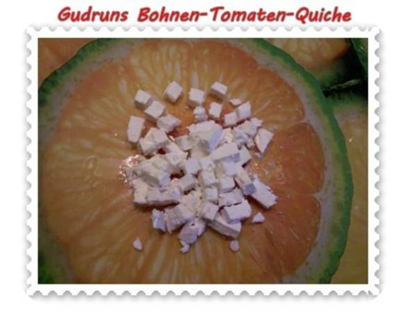 Quiche: Bohnen-Tomaten-Quiche - Rezept - Bild Nr. 7