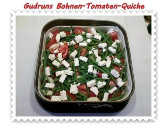 Quiche: Bohnen-Tomaten-Quiche - Rezept - Bild Nr. 8