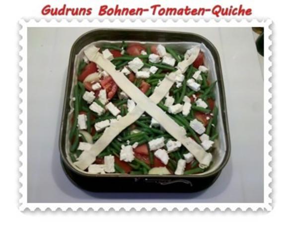 Quiche: Bohnen-Tomaten-Quiche - Rezept - Bild Nr. 9