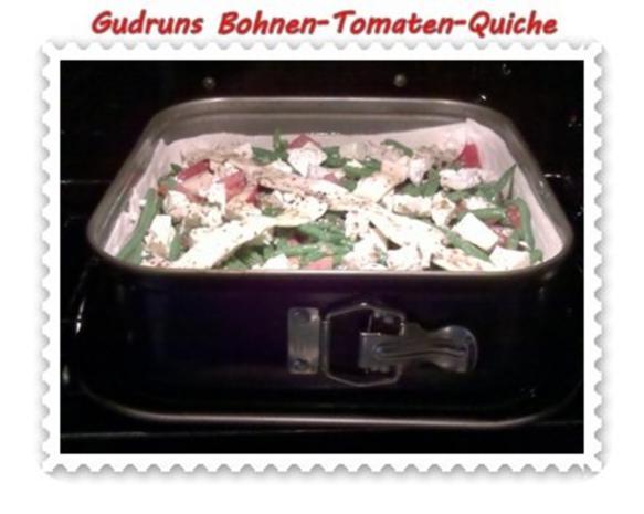 Quiche: Bohnen-Tomaten-Quiche - Rezept - Bild Nr. 10