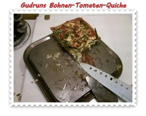 Quiche: Bohnen-Tomaten-Quiche - Rezept - Bild Nr. 11