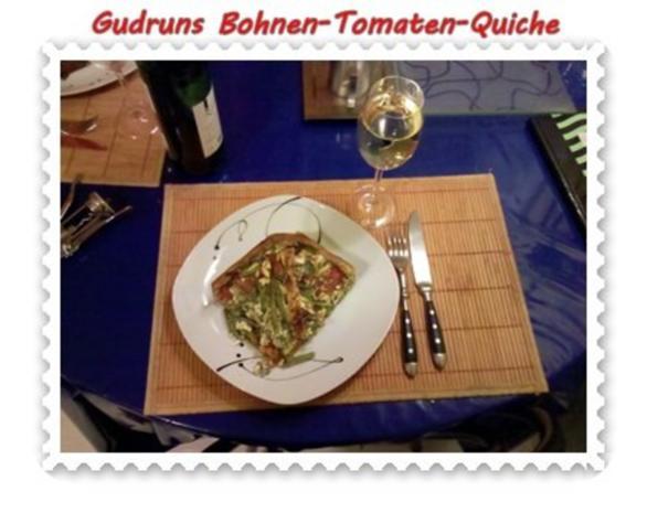 Quiche: Bohnen-Tomaten-Quiche - Rezept - Bild Nr. 12