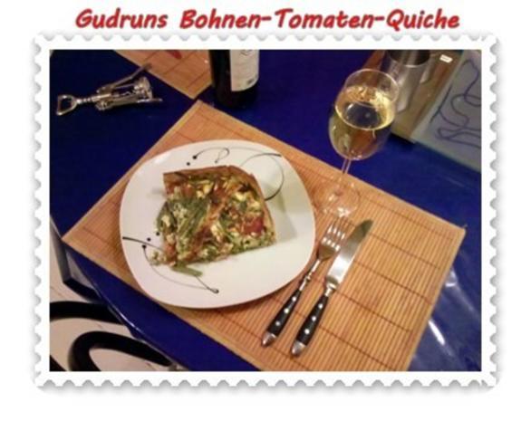 Quiche: Bohnen-Tomaten-Quiche - Rezept - Bild Nr. 13