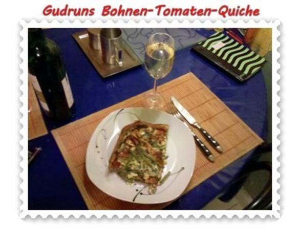 Quiche: Bohnen-Tomaten-Quiche - Rezept - Bild Nr. 14