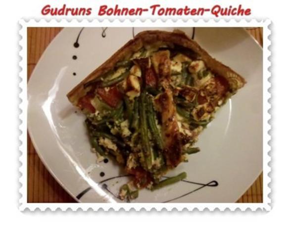 Quiche: Bohnen-Tomaten-Quiche - Rezept - Bild Nr. 15