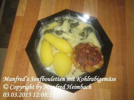 Hackfleisch - Manfred's Senfbouletten - Rezept