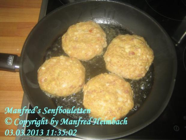 Hackfleisch - Manfred's Senfbouletten - Rezept - Bild Nr. 3