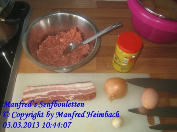 Hackfleisch - Manfred's Senfbouletten - Rezept - Bild Nr. 7