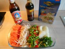 Resteverwertung: Reis-Gemüse-Pfanne asiatisch - Rezept