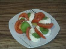 Insalata Caprese    (Tomaten-Bocconcini-Salat) - Rezept