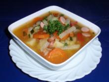 Kartoffel-Gemüse-Suppe - Rezept