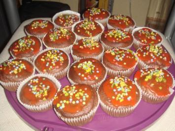 Marzipan-Muffins mit Rosenwasser - Rezept