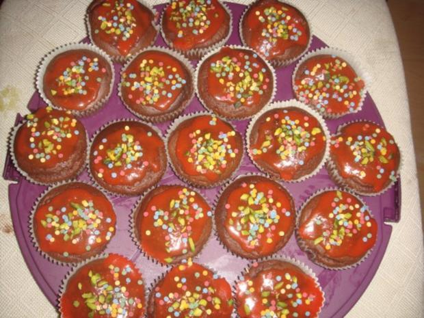 Marzipan-Muffins mit Rosenwasser - Rezept - Bild Nr. 2