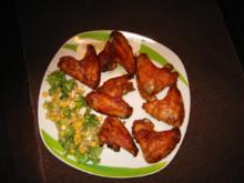 Hähnchenflügel gebraten - Rezept