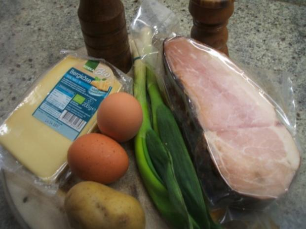 Vollkost: Pikanter Eierkuchen - Rezept - Bild Nr. 2