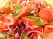 Tomatensalat auf afghanische Art - Rezept