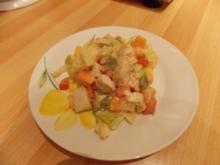 Fruchtiger Hähnchensalat - Rezept