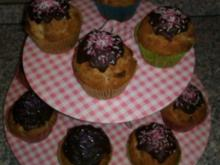 Mohn-Marzipan Muffins mit Amaretto - Rezept