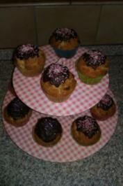 Rezept: Mohn-Marzipan Muffins mit Amaretto