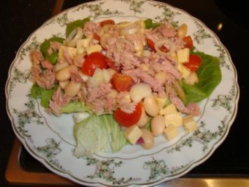 Thunfisch-Bohnensalat - Rezept