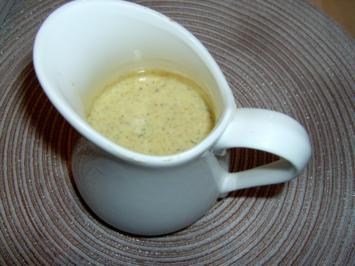 Gelbe Joghurt Remoulade Salatcreme - Rezept